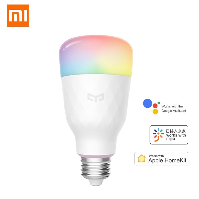 Original Xiaomi Mi Yeelight RGB 10W LED Wireless WIFI Control Smart E27 Light Bu