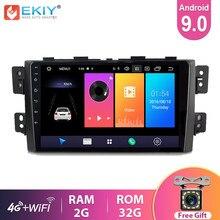 EKIY 9 ''IPS Android 9.0 Rádio Do Carro Para Kia Borrego Mohave 2008-2012 Stereo Multimedia Player De Vídeo GPS navegação BT Wifi HU