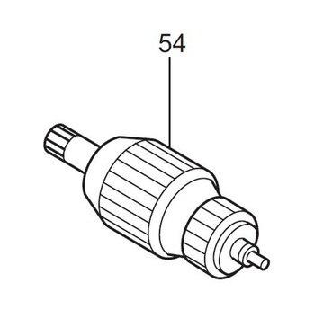 AC220-240V MAKITA 518631-6-и Поворотная якорь электродвигателя для JR3000VT JR3000V ротора