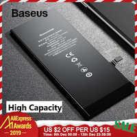 Baseus dla iPhone 6 6s 6 plus 6S Plus Bateria 2200mAh 3500mAh o dużej pojemności wymiana telefonu Bateria z narzędzia do darmowej naprawy zestaw
