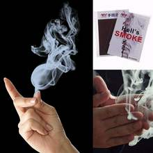 Magic Smoke Finger Magic Tips Surprise Prank Joke Mystery Fun Fingers Empty Hand Out Smoke Magic Props Comedy Magic(China)