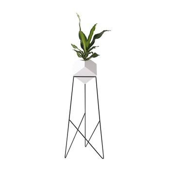 Nordic designer style iron creative modern minimalist living room bedroom floor flower stand home decoration green dill flower p