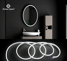 LED 12V Makeup Mirror Light Strip Vanity Light Dimmable control Remote control Wall Lamp white warmwhite lightfor Dressing Table cheap Plutus-Quinn CN(Origin) Switch 12GJ Resin