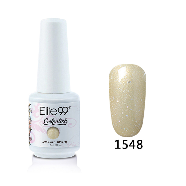 Elite99 8ml Reine Farbe UV Gel Nagellack Tränken Weg Niedriges Gel Top Coat Gel Polish Nagel Gel Lack lang Anhaltende Farbe Gel