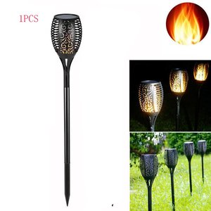 LED Flame Lamp 96LEDs Lawn Fla