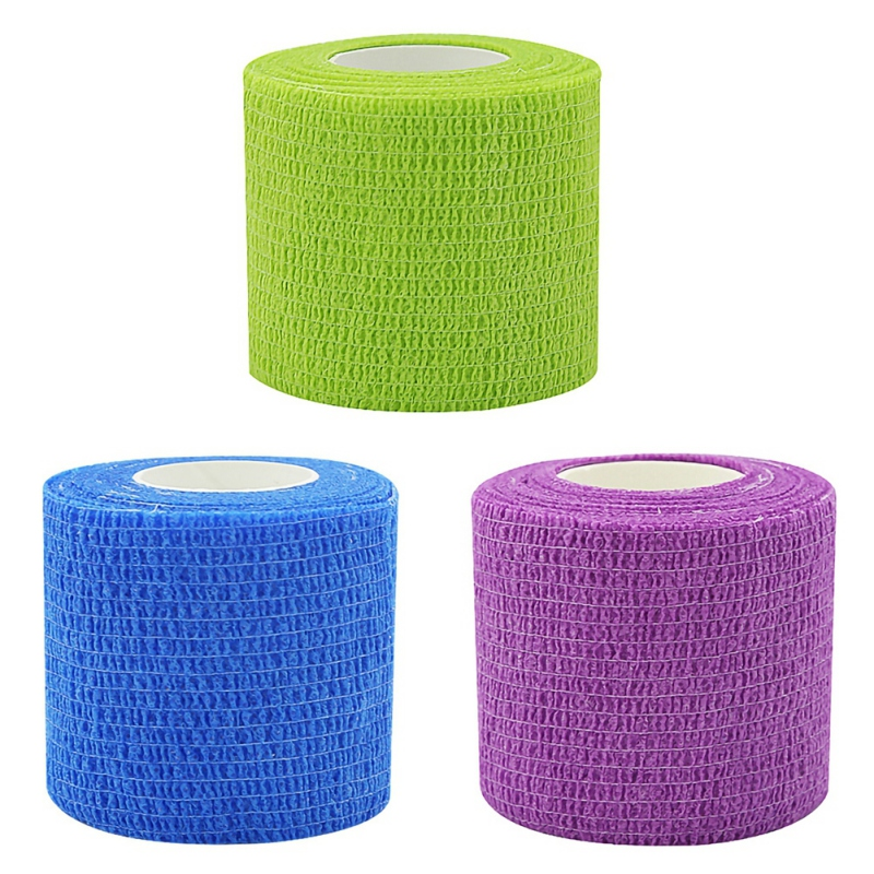 Colorful Sport Self Adhesive Elastic Bandage Wrap For Knee Ankle Palm Shoulder Relief Support Pads Finger Tape 4.5m Elastoplast