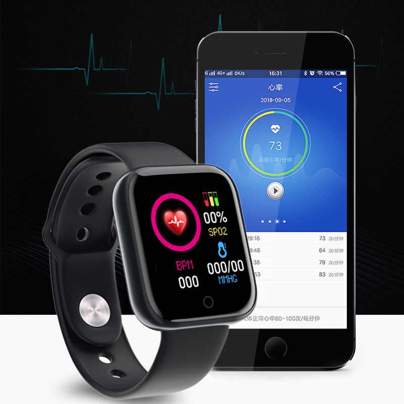 2020 Smart Uhr Männer Frauen Blut Druck Smartwatch Uhr Wasserdicht Herz Rate Tracker Sport Uhr Uhr Smart Für Android IOS