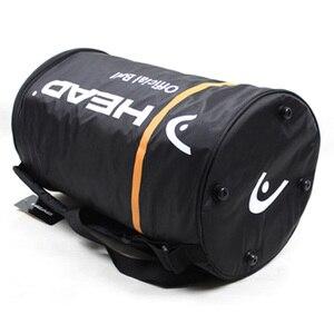 Saco de tênis laranja preto cabeça raquete sacos para 70-100 peças bolas de tênis com isolamento térmico feminino masculino padel acessórios