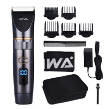 Professional Waterproof Hair Trimmer LED Display Men's Hairc