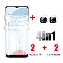 Realmy realmi c21 hydrogel filme câmera lente protetora para oppo realme real me c21 c 21 21c realmec21 6.5 protectors protectors protetores de tela
