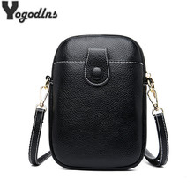 Vintage Lychee Pattern Shoulder Bag For Women PU Leather Crossbody Bag Small Messenger Bag Leisure Shopping Mobile Phone Purses