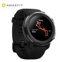[Stratos 3] versión Global Huami AMAZFIT Stratos 3 GPS 5ATM reloj deportivo inteligente impermeable 512 MB/4 GB reloj inteligente para Android IOS