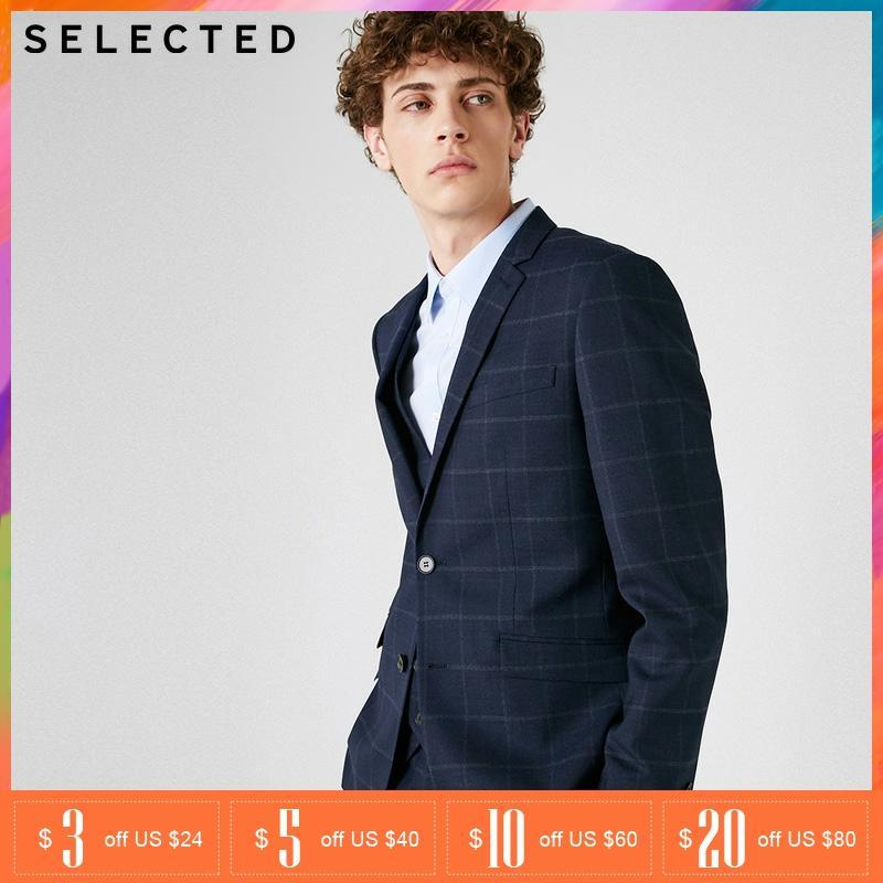 SELECTED Business Wool Wedding Formal Coat Blazer Suit   418372505