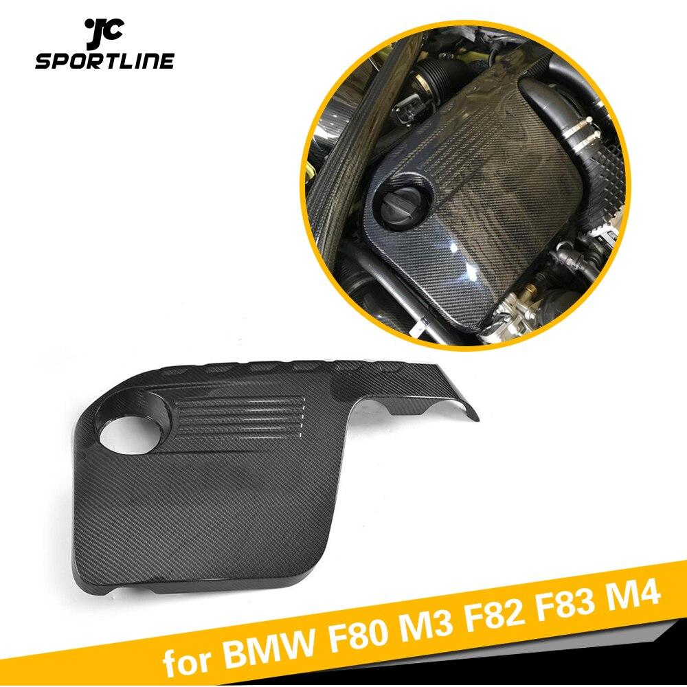 Capot moteur en capot pour BMW F80 M3 F82 F83 M4 2014-2018 protecteur de capot Auto en Fiber de carbone