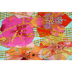 Image 5 - Excellent African Fabric Real Wax Batik 100% Cotton High Quality Ankara Printing Pagne Tissu Sewing Material For Dress Crafts