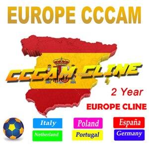 Europe Cccam 6 7 8 Europe cline Full HD 2 Years Cccam cline for Europe Use for Satellite TV Receiver DVB-S2 Gtmedia V8 NOVA(China)