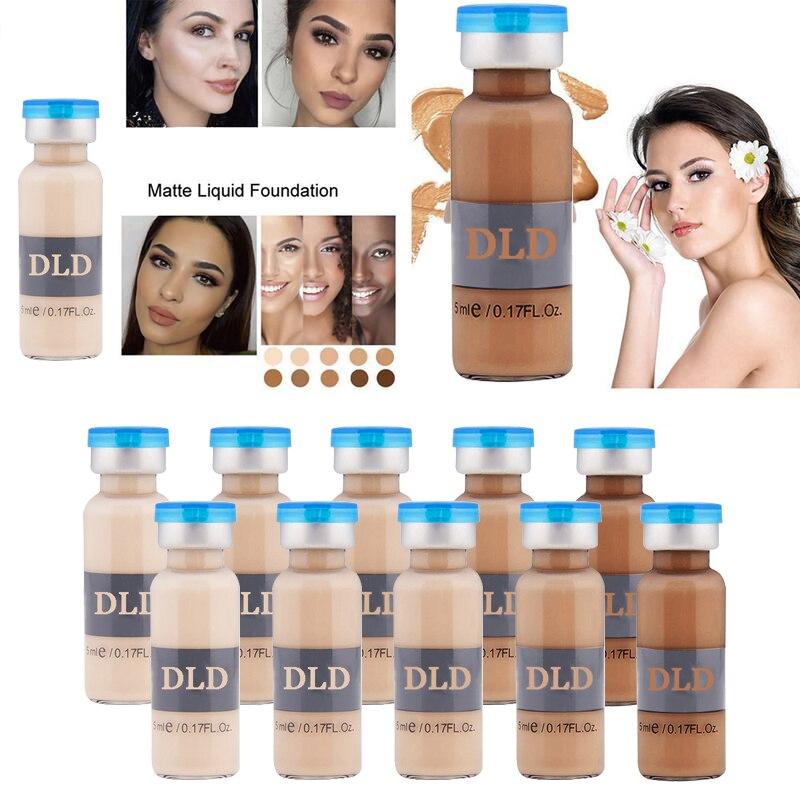 Tons de pele 5-BB Creme de Soro para Clarear A pele do rosto cuidados Faciais de Clareamento Fundação maquiagem Beleza