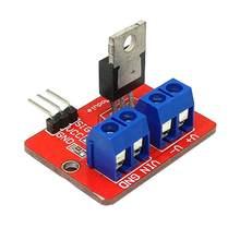 10 teile/los 0-24VTop Mosfet Taste IRF520 MOS Fahrer Modul Für Arduino MCU Raspberry pie