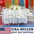 Прозрачный стул с кристаллами  США Доставка  прозрачные кресла с кристаллами для свадьбы  прозрачные обеденный стул с привидением  оптовая ...