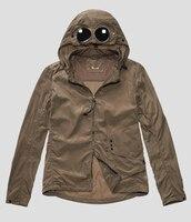2019 новый стиль модная мужская куртка размера плюс на молнии с капюшоном на молнии cp куртка с длинным рукавом теплая уличная ветровка