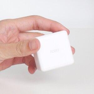 Image 5 - Aqara sihirli küp denetleyici akıllı uzaktan kumanda Zigbee sürümü kontrol altı eylemler akıllı ev cihazı ile çalışmak mijia app