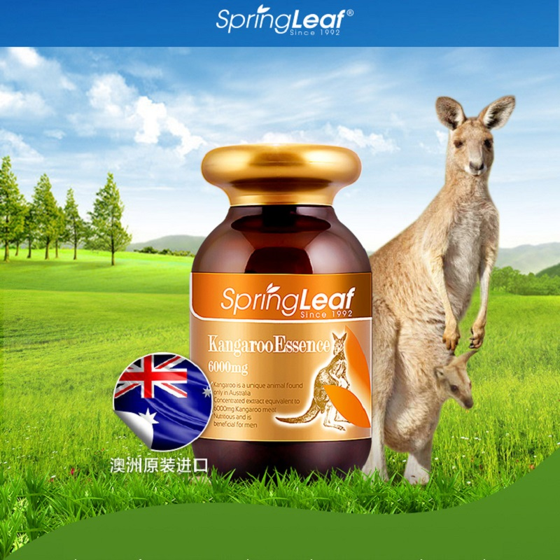 6000mg Kangaroo Essence Maca Capsule Male Tonic Men Sexual Vigor Vitality Reproductive Health Wellness Supplements Quality Sperm