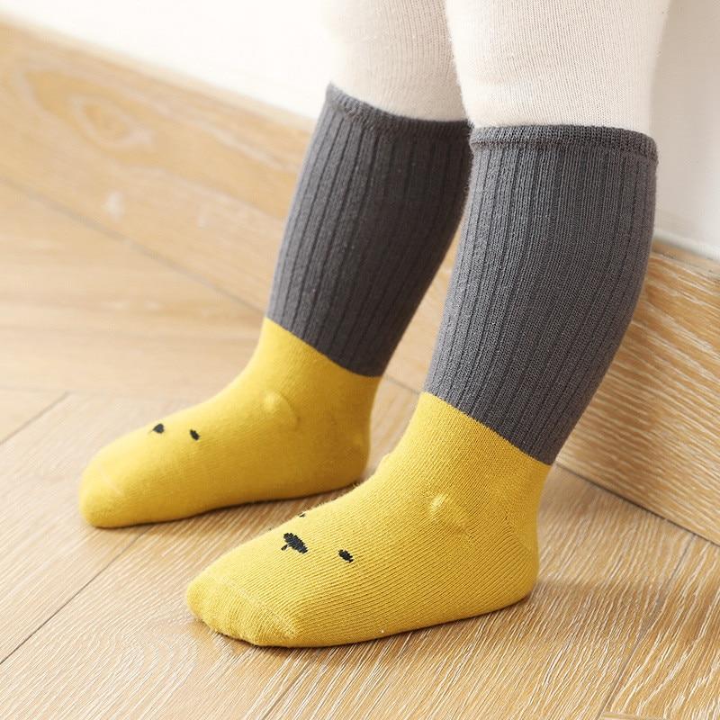 Lawadka Neue geboren Baby Mädchen Socken Baumwolle Baby Jungen Winter Socken Anti Slip Boden Infant Socken für mädchen Newborn Günstige zeug 2020
