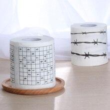 1 рулон, 2 слоя, забавная туалетная бумага, новинка, Забавный номер, Sudoku, печатный туалет, для ванной, забавная мягкая туалетная бумага, тканевые принадлежности для ванной, подарок