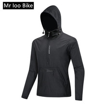 cycling jacket hooded riding cycle clothes bicycle long sleeve jerseys vest reflective wind coat cycling jacket rain jacket spexcel 2018 lightweight cycling rain jacket waterproof technology 3 layer composite fabric commuting cycling jacket urban ride