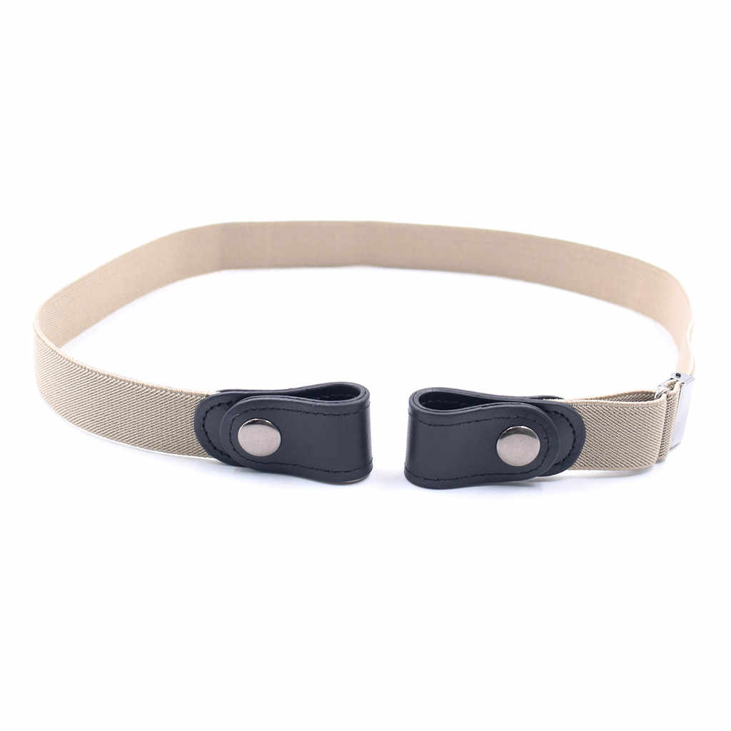 Cinturón elástico Invisible para Jeans sin hebillas para adultos/niños, cinturón elástico Invisible para Jeans sin bultos