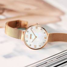 Relojes de lujo para mujer de TEENRAM, reloj de pulsera de cuarzo a la moda para mujer, reloj resistente al agua para mujer, relojes femeninos