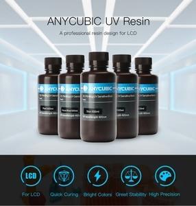 Image 3 - Anycubic 405nm 1L Resin for Photon S Mono 3D Printer SLA UV Sensitive Resin Liquid Printing Material Photosensitive uv Resina