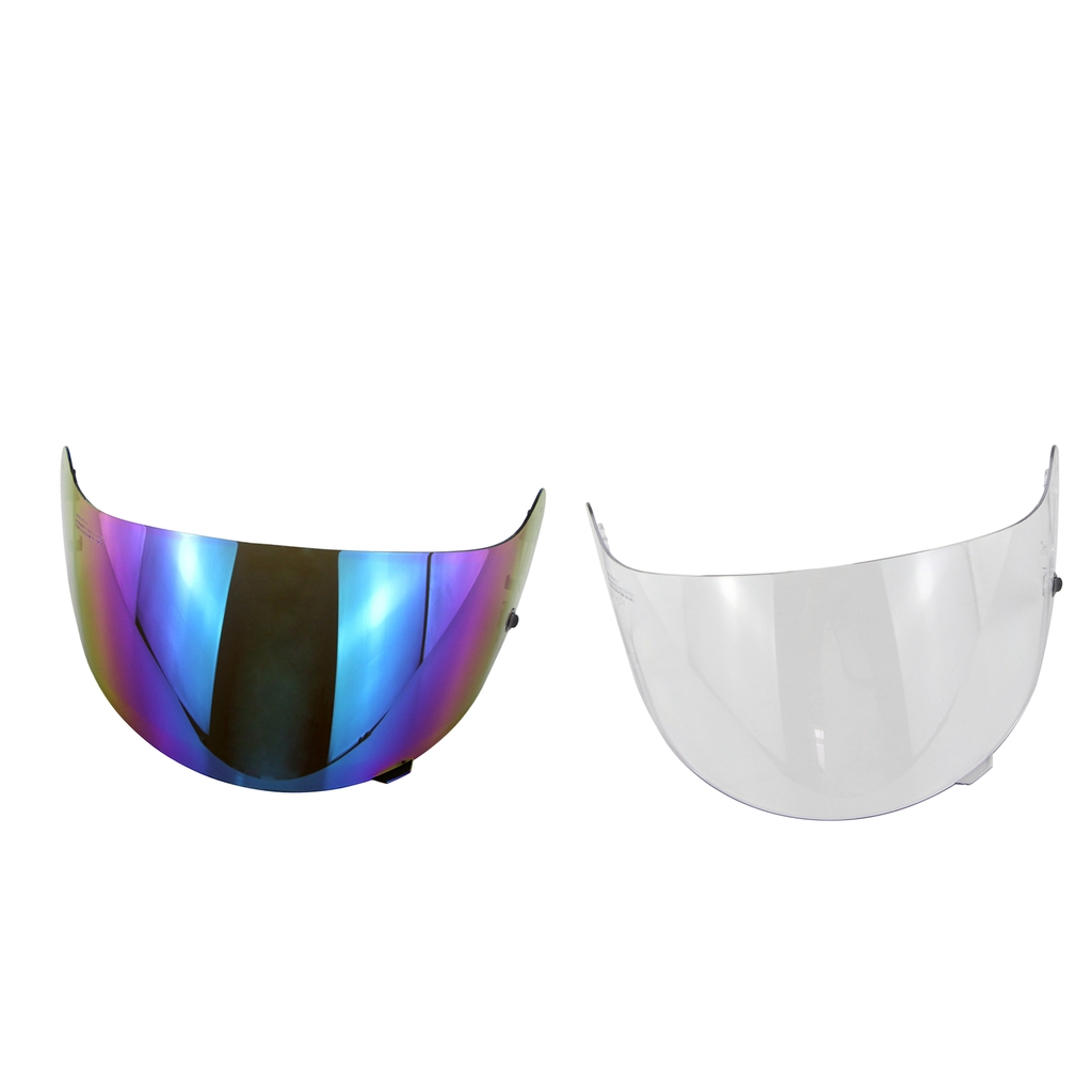 2 Packs Replacement Motorcycle Visor for HJC HJ-09 CL-15 CL-17 Lens Shield