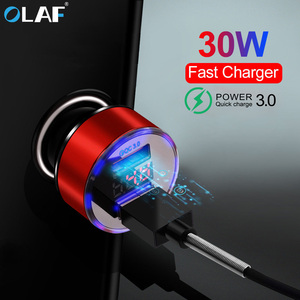 30W 3A Fast Car Charger Quick