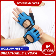 Gym-Glove Wrist-Mittens Weight-Lifting Exercise Training Fitness Half-Finger Sports Breathable