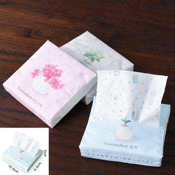 New Home Color Printing Tissue Soft Home Hotel Facial Tissue Paper