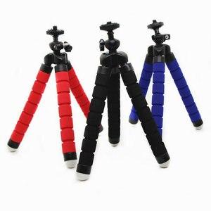 Image 4 - Flexibele Mini Statief Flexibele Telefoon Statief Met Type E Telefoon Clip 1/4 Schroef Hole Camera Mini Statief Voor Smartphone & camera