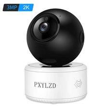 Ai wifi ip камера 3mp 2k hd беспроводная безопасности для помещений
