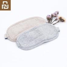 Original youpin 8 h máscara de olho viagem escritório dormir resto auxílio portátil respirável sono óculos capa sentir frio gelo algodão