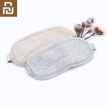 Youpin máscara para los ojos 8H Original, para viajes, oficina, descanso para dormir, gafas de dormir transpirables portátiles, funda de algodón para sentir frío