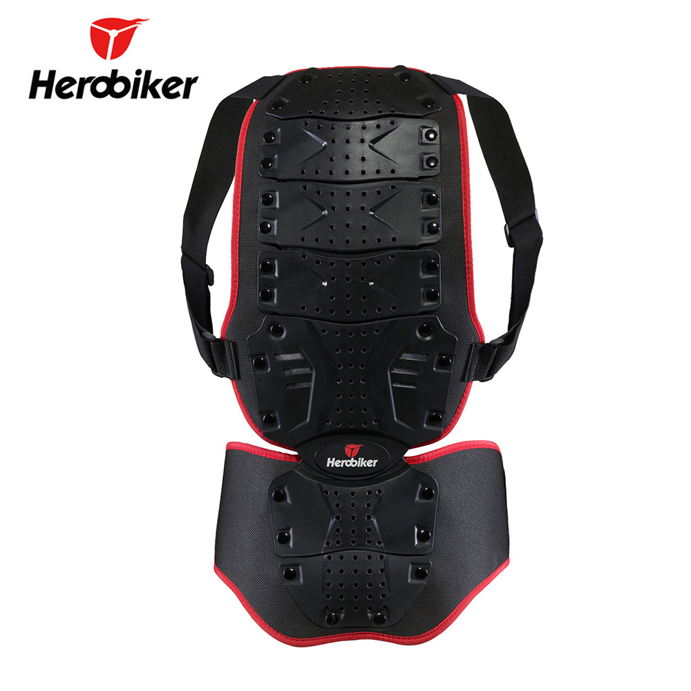 Herobiker Riding Motorcycle Back Protector Skiing Armor Back Protector Fang Shuai Yi Spine-Chest Protector Impact Resistance Pro