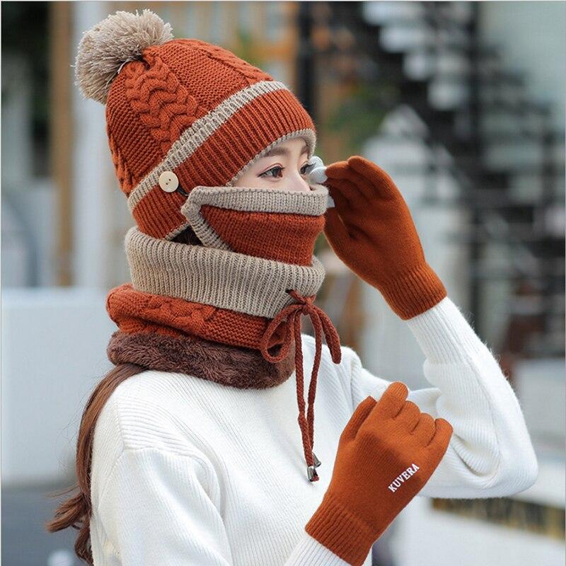 棕色加手套