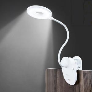 Image 2 - Gorący bubel lampa stołowa na biurko, z wejściem usb lampa Led studium czytanie jasne światło pulpit LED lampa do czytania i pracy domowej dzieci