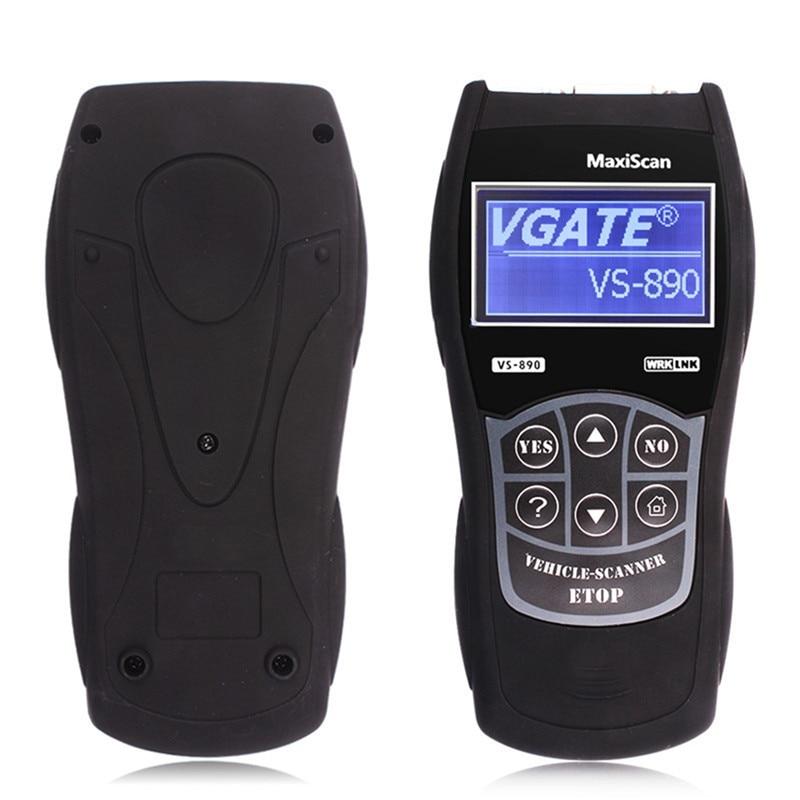 VS 890 lecteur de Code de voiture VS890 outil de Scanner de Diagnostic multi-langue VS-890 Auto Scantool MaxiScan défaut moteur OBD2 EOBD JOBD