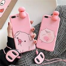 Luxus 3D lustige schwein nase Rosa silikon telefon fall für Samsung Galaxy A71 A51 A30S A20 A10 M30 M20 M10 a80 A70 A60 A50 A40 A30