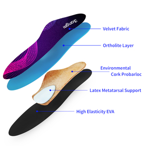Image 4 - 3ANGNI Orthopedic Insoles for Severe Flat Feet Arch Support Insoles for Shoes Orthotic Plantar Fasciitis Shoe Pad Relief Pain
