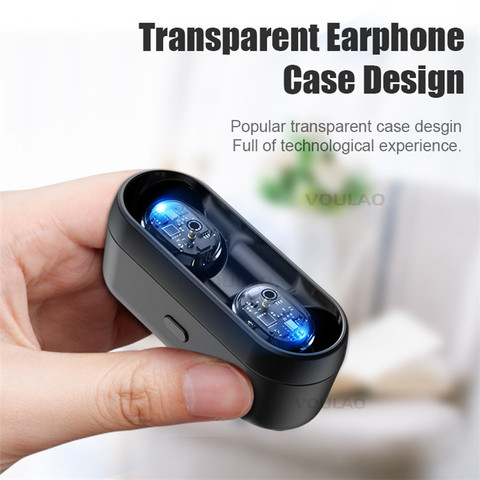 Wireless Headphones Bluetooth V5.0 TWS Earphones Touch Control 9D Stereo Bass Earbuds For IOS Android Fone de ouvido bluetooth Lahore