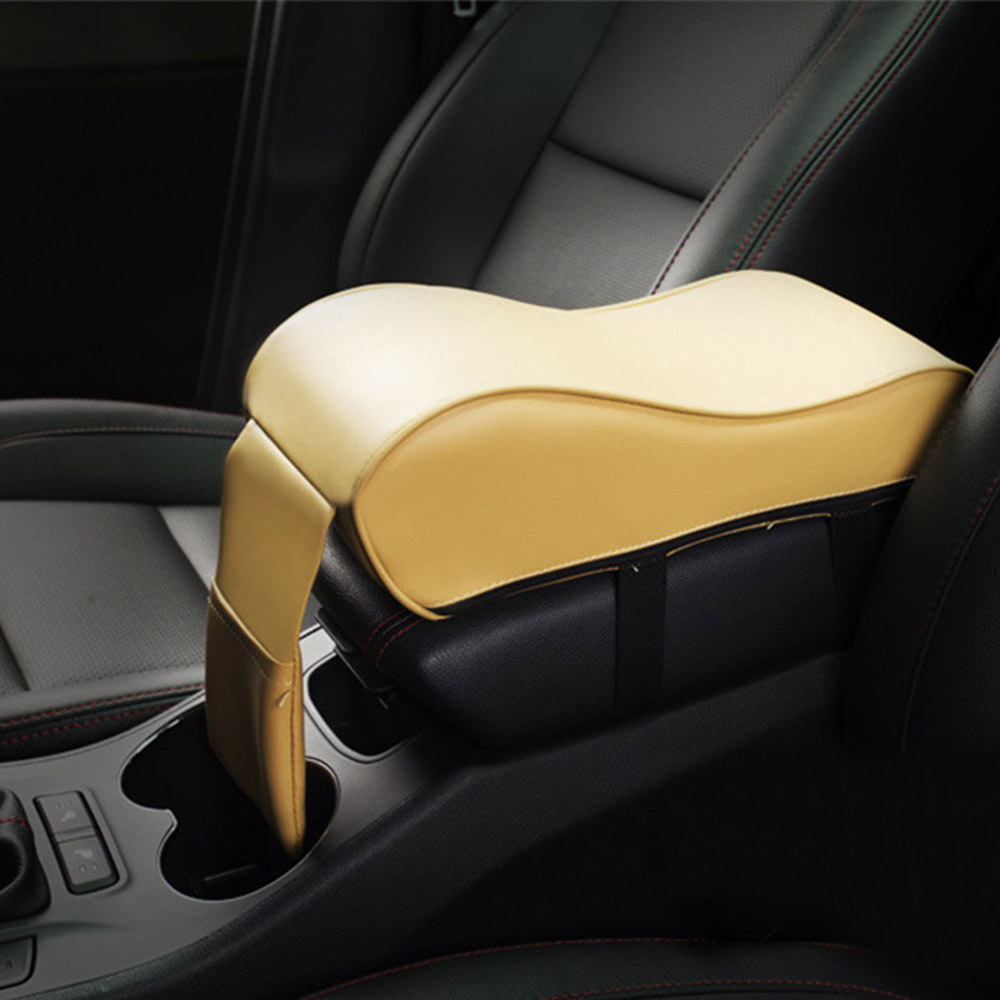 Image 4 - Universal Leather Car Armrest Pad Auto Armrests Car Center Console Arm Rest Seat Box Pad Vehicle Protective Car Styling-in Armrests from Automobiles & Motorcycles