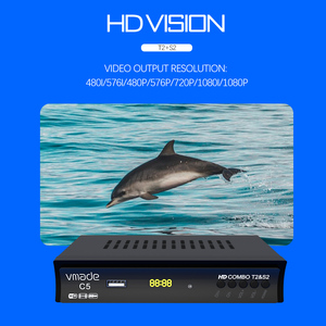 Image 5 - Hot selling Europe Russia Digital Terrestrial Satellite fully HD TV DVB T2S2 Combo Decoder Receiver Support Youtube usb WIFI PVR