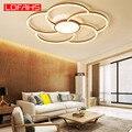 Современные светодиодные потолочные лампы LOFAHS для гостиной  спальни  кухни  новый дизайн  простая алюминиевая потолочная лампа  домашнее ос...